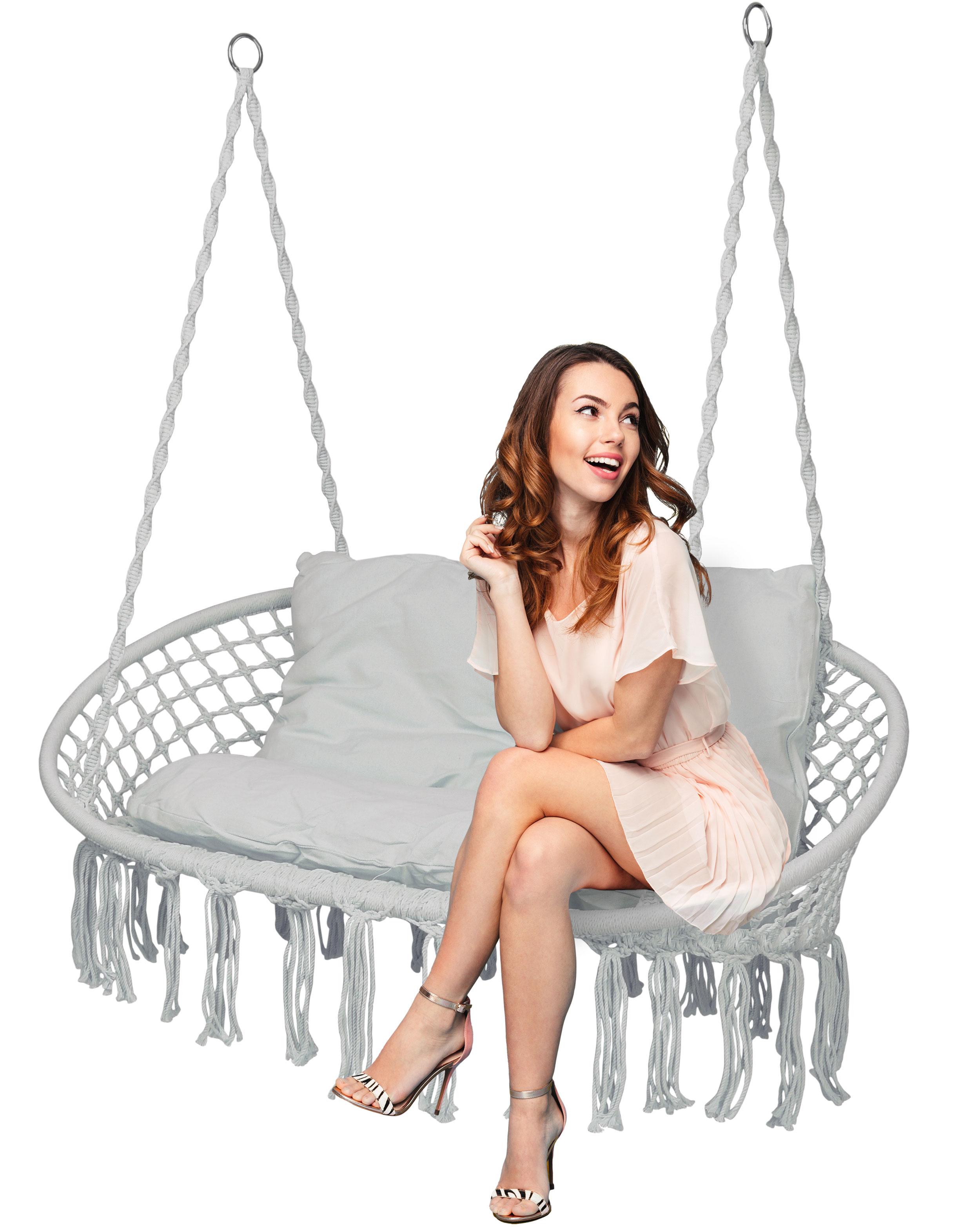 Krzesło fotel wiszący huśtawka LAGOS