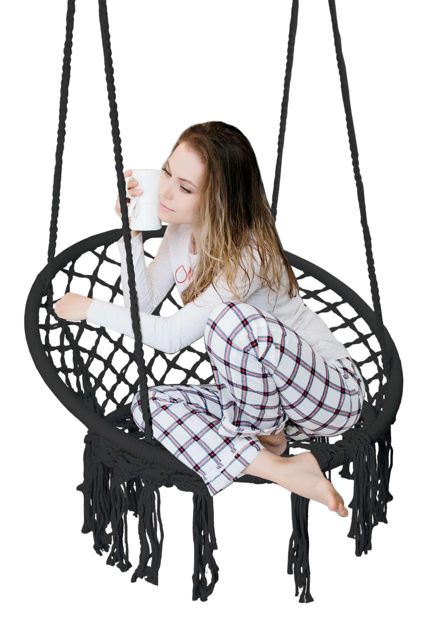Krzesło fotel wiszący huśtawka TOGO