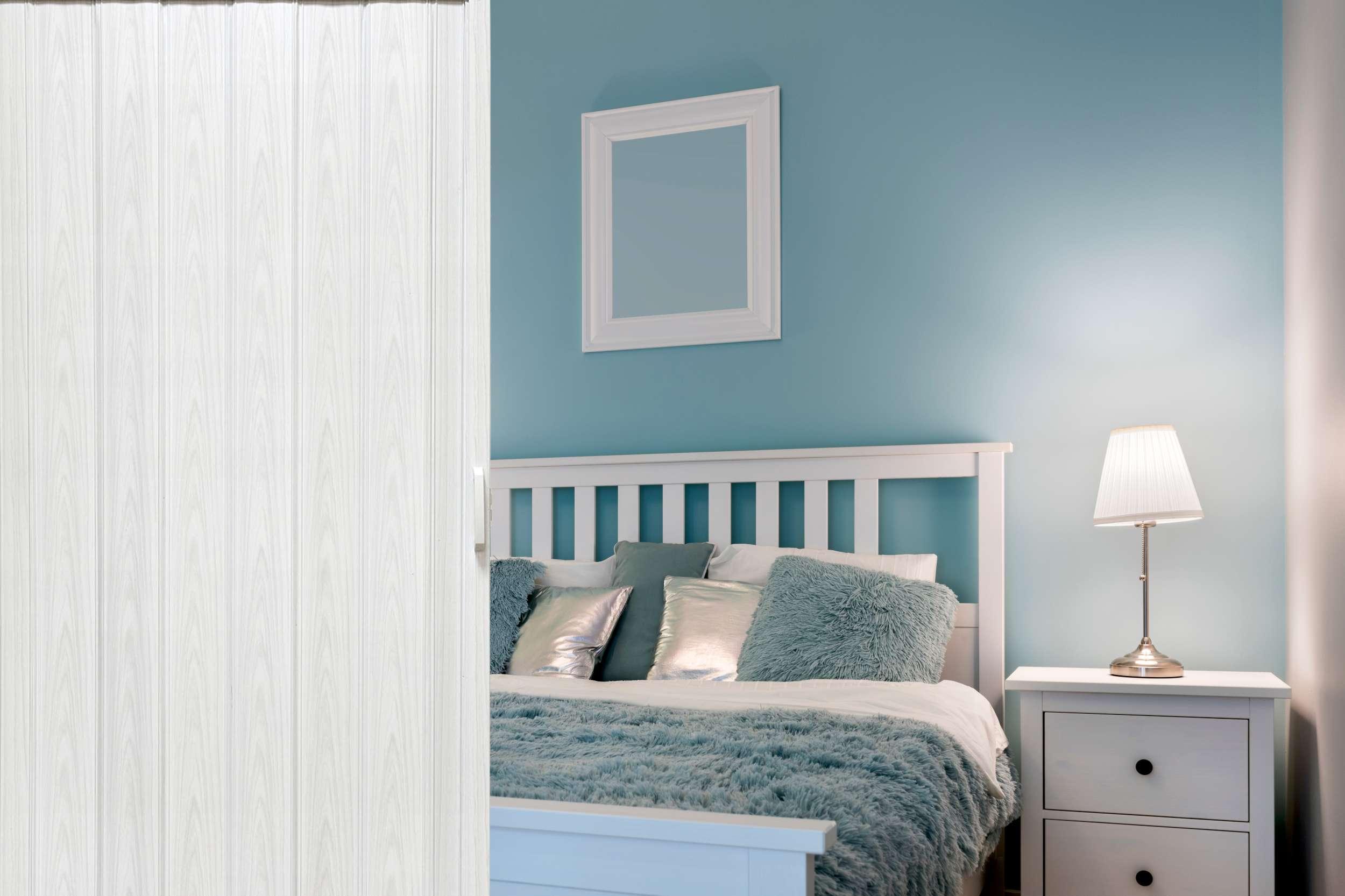 Drzwi Harmonijkowe 004 Biały Dąb 80 cm