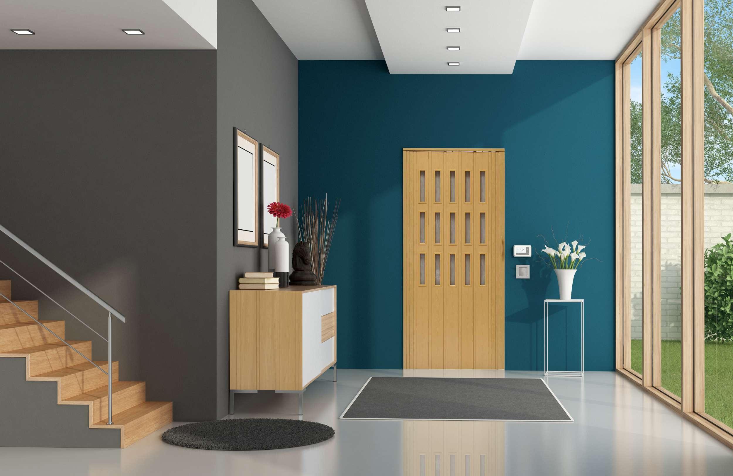Drzwi harmonijkowe 008S 8671 Buk Mat