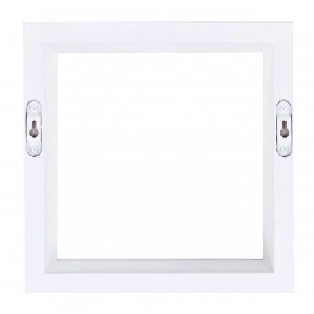 Półki Wiszące Cube Quad Zestaw 3 Szt Białe Tohurtpl