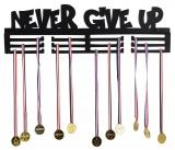 Wieszak na medale - NEVER GIVE UP